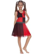 Dc Comics Girls' Big Harley Quinn 'Costume' Pajama Nightgown Size M(7/8) (L969)