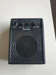 Dean Markley GT-1000 Black Micro Amp Guitar Amplifier Battery Powered