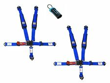 Simpson Latch & Link Harnesses 2x2 Blue W/Black Hardware Clip In Polaris Bypass