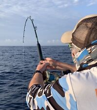 Saltwater Offshore Casting Rod 7' 1Pc 40-80 Lb Saltwater Fishing Rod