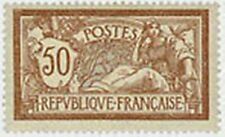 """FRANCE STAMP TIMBRE N° 120 """" TYPE MERSON , 50 C BRUN ET GRIS """" NEUF x TB"""