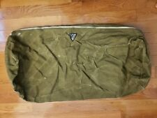 US ARMY CANVAS COTTON DUFFEL BAG WWII?