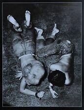 Jan Saudek Photo Kunstdruck Poster Art  Print 30x42cm The bonds of love 1958 B&W