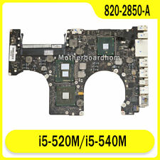 """Motherboard for Macbook Pro 15"""" A1286 MC373CH 2010 i5 520M / 540M 820-2850-A"""