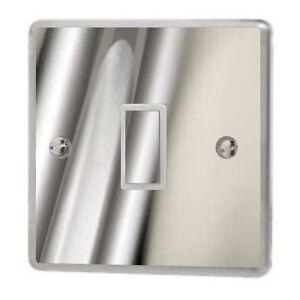 Chrome Silver Gloss Light Switch Sticker Vinyl / Skin cover