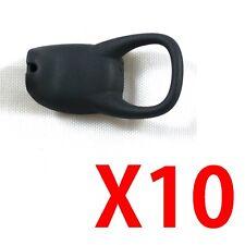 HXLB10 MOTOROLA ENDEAVOR HX1 LARGE EARBUD EARTIP EARGEL EAR BUD TIP GEL NUT 10PC