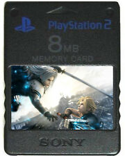 FINAL FANTASY - MEMORY CARD SAVES PS2 VII 7 8 9 X XII VIII 6 IV Original PS1