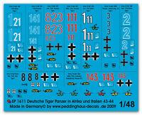 Peddinghaus 1/48 1611 Tiger I PANZER en Italia