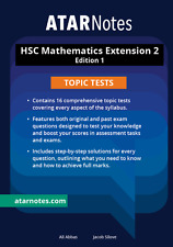 HSC Mathematics Extension 2 Topic Tests