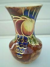 Oldcourt Ware - Lustre Vase - Fruit Design - Deveron - England