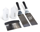 Blackstone Grill And Griddle Kit Spatulas Chopper Scraper Bottles BBQ Outdoor