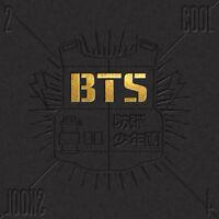 BTS KPOP BANGTAN BOYS Single Album [2 Cool 4 Skool] Music CD + Photobook