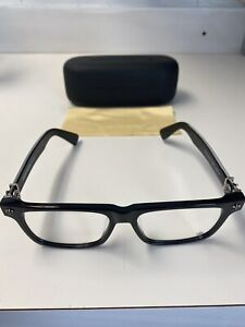 CHROME HEARTS Box Lunch-A Black Eyeglasses Come With Box