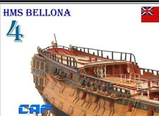 HMS Bellona Scale 1/48 1250mm Session 4 74 Gun Battleship Wood Model Ship Kit