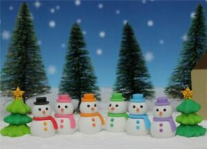 Novelty Japanese IWAKO Christmas Puzzle Eraser Rubbers - IWAKO Snowman Erasers