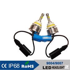 9004 HB1 LED Headlight Kit 2200W 330000LM Hi/Low beam Light Bulb White 6000K HID