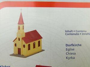 E02 Piko H0 61922A Gebäudebausatz Kirche TOP