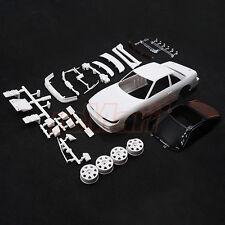 Kyosho Mini-Z AWD NISSAN SILVIA S13 White Body Set w/Wheel EP RC Cars #MZN178