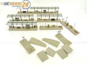 E162 Vollmer H0 43532 3532 14x Gebäude Bahnsteig Bahnsteigteile teilw. überdacht