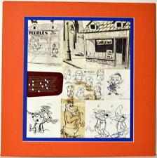MAGILLA GORILLA MODEL SHEET COLLAGE PRINT PRO MATTED Hanna Barbera Mush Mouse
