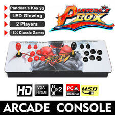 Pandora Video Arcade Game Console Machines 1280P 2 players joystick 1500 games