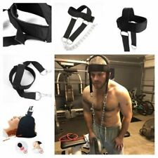 WEIGHT LIFTING HEAD HARNESS NECK STRENGTH PADDED BLASTER GYM WORKOUT