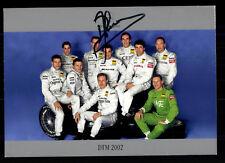 DTM 2002 Autogrammkarte Original Signiert Motorsport+G 19057