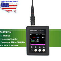 SURECOM SF401 Plus Frequency Counter  Analysis Meter for Walkie Talkie Radio