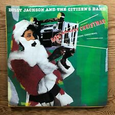 """BILLY JACKSON & THE CITIZENS BAND HAVE A HAPPY CHRISTMAS 1982 7"""" VINYL"""