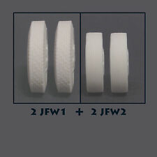 JFW4 Jimmy Flintstone 1/25 scale resin truck tires with wheels combo