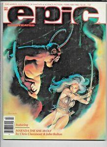 Epic Illustrated #10 Magazine February 1982 Marvel Bolton VF Heavy Metal Art
