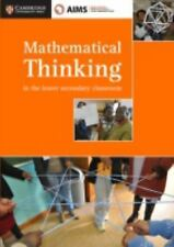 AIMSSEC Maths Teacher Support Series Mathematical Thinking in the Lower...