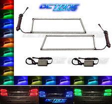 03-06 Chevy Silverado Multi-Color Changing LED RGB Lower Headlight Halo Ring Set