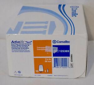 "CONVATEC 125369 ActiveLife 1-Piece Urostomy Pouch Precut 1-1/2"" Box of 10"
