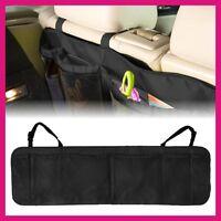 Multi Mesh Pocket Hanging Car Boot Car Seat Tidy Storage Organiser-Black