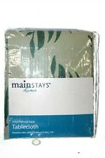 """Mainstays Home Vinyl Flannel back Tablecloth.  60"""" x 84""""."""