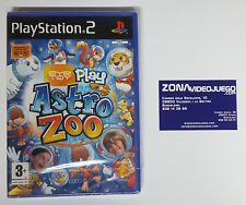 EYE TOY PLAY ASTRO ZOO, PLAYSTATION 2, NUEVO A ESTRENAR, PAL ESPAÑA