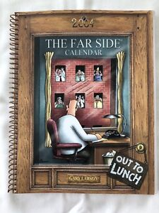The Far Side Diary (2004). Gary Larson. Very Good Condition. Some Entries Made.
