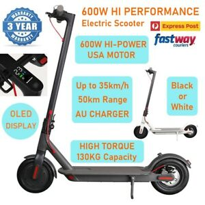 NEW 600W PRO Model Electric Scooter 35km/h 8.5inch 50km Portable Foldable Bike