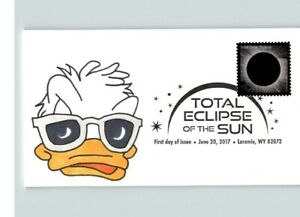 Hand Painted Disney's DONALD DUCK w/ Glasses, # 1 of 1 made, TOTAL ECLIPSE of th