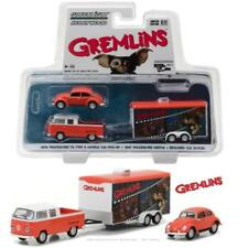 GREENLIGHT 31030 A - GREMLINS 1972 VW T2 & 1967 BEETLE W/ TRAILER DIECAST 1:64