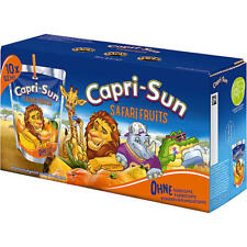 80 x Capri Sun Safari  a 200ml Safari Früchte 16 Liter Neu