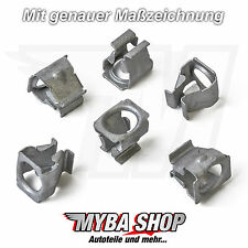 10x Metal Underbody Protection Clip Clips for VW Skoda Seat Audi | n90847501