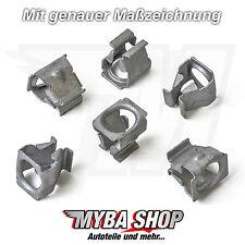 10x Metall Unterboden Schutz Klammer Clips für VW Skoda Seat Audi | N90847501