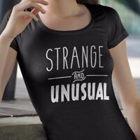 Strange and Unusual Halloween Shirt Sweets Party Gift Funny Beetlejuice Goth Cat