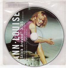 (GX720) Ann Louise, Stick Around - 1998 DJ CD