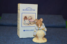 Lovely Royal Albert Beatrix Potter 'Gentleman Mouse Made A Bow' Figurine RD4808