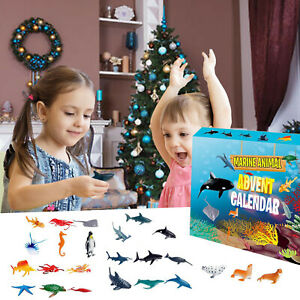 Advent Calendar 2020 Christmas Slime 24Pcs Different Countdown Calendar Toy Gift