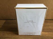 Love Ralph Lauren 2.5 Floz Eau de Parfum spray 75ml original old version classic