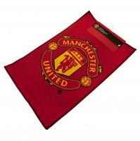 Manchester United FC Official Crested Bedroom Rug / Mat Size 80cm x 50cm Gift